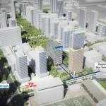 Proposed development in Vaughan Ontario