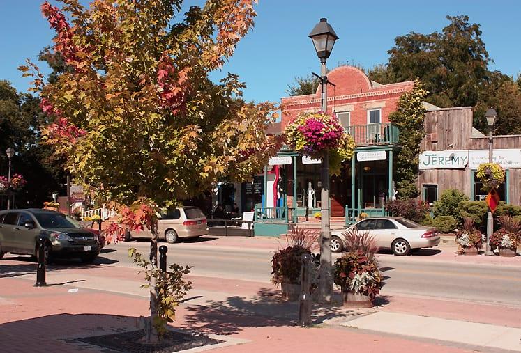 Downtown Kleinberg Ontario Canada