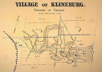History of Kleinberg Ontario